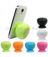 Silicone ventouse étanche Haut-parleur Bluetooth