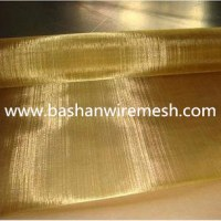 China steel mesh manufacturers Brass Wire Mesh 80/20 Brass copper wire mesh