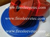 Fiberglass fire sleeve