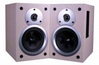 Music speaker subwoofer speaker on wall speaker