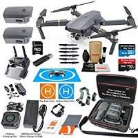 DJI Mavic Pro Drone Quadricoptère Elite Combo avec 3 Piles