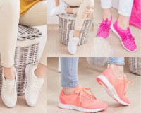 Stock chaussures baskets sneakers femme