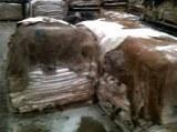 Somalien Peaux seches ou cuir (vaches et moutons)