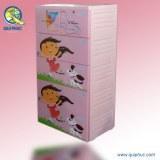 Tiroirs en Plastique Bite Armoire Pour Les Enfants Vietnam QP-1867