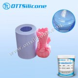 RTV2 Non-oily silicone rubber for candle molding of food grade