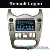 2 din coche sistema de PC Android Renault Logan Dvd OEM de fábrica
