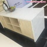 Kimria quartz prix abordable calacatta quartz table top
