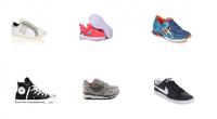 Lots de chaussures de sport mixte