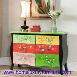 Coffre de coffre de tiroirs de Cabinets de l'antiquité en bois FY-HG03 de coffret de ti...