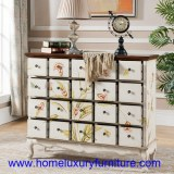 Coffre en bois de coffret de coffres des coffres JX-0965 de tiroir de meubles de salon...