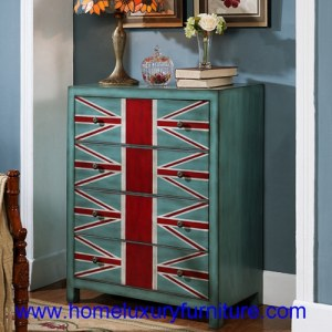 Coffre en bois de coffret de coffres des meubles JY-938 de salon de tiroirs