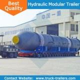 China Famous (Goldhofer THP/SL) heavy duty hydraulic moduler trailer