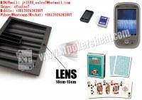 XF plastique noir Chiptray Caméra Pour Poker Analyzer / Chip Box / caméra Plateau