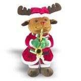 Bespoke 3 Assorted Christmas Electric Stuffed Toys Wholesale
