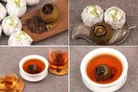 Citron Vert de Pu Er Pu Erh Cuit Shu Thé Parfumé