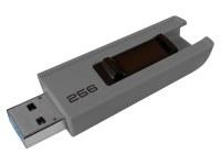 Clé USB 256Go EMTEC Slide 3.0 Gris Blister