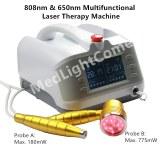 Utilisation clinique 1000mW entorse au genou machine de traitement au laser de polyarth...