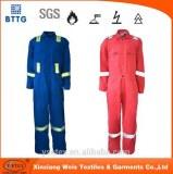 EN11612 100 cotton cheap custom fireproof garments