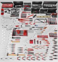 Palette Facom Clés mixtes de 26 à 30 et 32 mm
