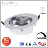 Newly designed & patent LED adjustable ceiling light 5inch dimmable