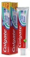 Colgate toothpaste and Colgate Plax