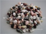 Natural color pebble stone