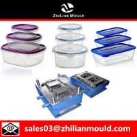 Injection plastique boîte à lunch moule de haute qualité.