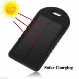 5000mAh imperméable à l'eau RoHS Chargeur solaire de téléphone cellulaire Power Bank av...