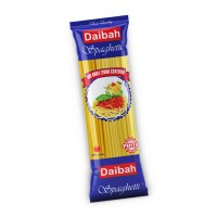 African Pasta Spaghetti Daibah Brand Hard Wheat Pasta - Wholesale Macaroni