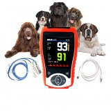 Veterinary Handheld Pulse Oximeter SpO2 Heart Rate Continuous Detection Pets Standard...