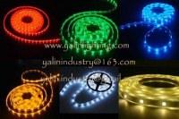 Éclairage de corde vacances de Noël LED, lumière flexible de bande de SMD RVB, 12V 3528...