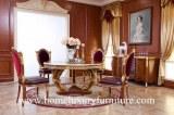 Les meubles classiques de luxe de salle à manger de chaise de table de salle à manger...