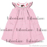 Dog with love letters bishop dress - DR 1573