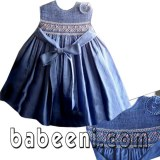 Baby girl smocked dress - DR 311A