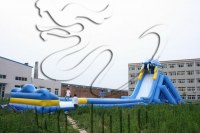 New Kids and Adults water slides inflatable /giant inflatable water slide for adult for...