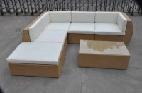 Leisure outdoor rattan sofa set