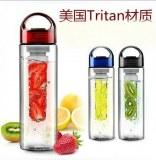 Sj24-TRITAN fruits infuseur bouteille verre équipement BPA libre niveau élevé style pop...