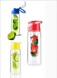 Sj32-TRITAN fruits matériels infuseur bouteille d'eau avec couvercle facile transporter...