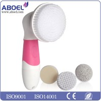 2016 New Arrival 5 In 1 Face Massager Rotating Electric Facial Cleansing Brush