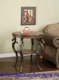 Table en bois FY-1006 de coin de table de table d'extrémité de table de côté de table...