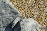 Color epoxy pebble