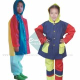China Kids EVA Plastic Raincoats /EVA raincoats supplier: