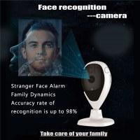 Détection de visage caméra détection de visage intelligente alarme de sécurité à la maison