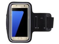 Brassard sport néoprène noir pour Samsung Galaxy S7 Edge