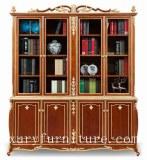 Style FBS-138 de l'Italie de fournisseur de chia d'étagères à livres en bois solide de...