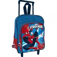 3x Trolleys Spiderman 41 cm