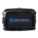 Gros Dual Core Androd DVD de voiture avec système de navigation Fiat 500 L