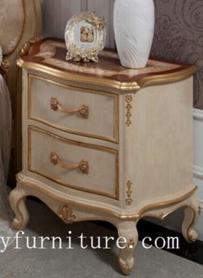 la table de chevet classique de support de nuit de supports de nuit en bois handcraft