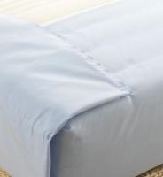 Drap de lit blanc