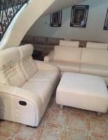 Canapé CUIR CENTER / ROCHE BOBOIS